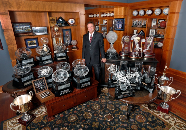 Bill Self Trophies