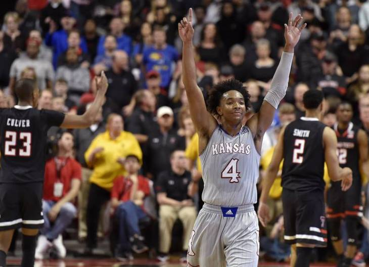 devonte graham celebrates