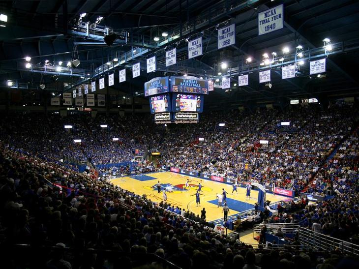 kansas-jayhawks-allen-fieldhouse-replay-photos